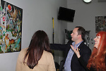 "- ""Meet The Artist Reception"" - Jane Elissa - featuring her latest collection of singed prints and accessories inspired by life in New York City. Raffle to benefit the Jane Elissa Charitable Fund for Leukemia and cancer research on May 24, 2016 at J. Cohen Chiropractic, New York City, New York. (Photo by Sue Coflin/Max Photos)"