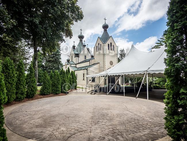 St. Sava Church at the monastery, Libertyville, Illinois.