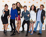 "Yolanda Ramos, Canco Rodriguez, Lorena Gomez Blas Canto, Beatriz Luengo and Juan Munoz during the presentation of the new season of ""Tu cara me suena 5""  in Madrid. October 05, 2016. (ALTERPHOTOS/Rodrigo Jimenez)"
