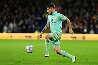 Ryan Manning of Queens Park Rangers in action during the Sky Bet Championship match between Cardiff City and Queens Park Rangers at the Cardiff City Stadium in Cardiff, Wales, UK. Wednesday 02 October, 2019