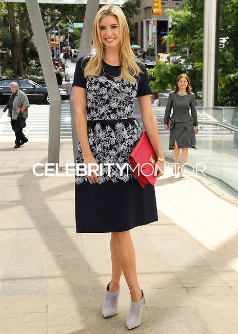 NEW YORK CITY, NY, USA - SEPTEMBER 03: Ivanka Trump arrives at the 8th Annual Fashion Award Honoring Carolina Herrera held at the David H. Koch Theater at Lincoln Center on September 3, 2014 in New York City, New York, United States. (Photo by Jeffery Duran/Celebrity Monitor)
