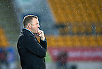 St Johnstone v Hamilton Accies...10.05.11.When it rains it pours, Accies boss Billy Reid.Picture by Graeme Hart..Copyright Perthshire Picture Agency.Tel: 01738 623350  Mobile: 07990 594431