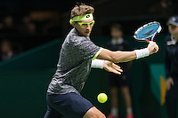 ABN AMRO World Tennis Tournament, Rotterdam, The Netherlands, 13 februari, 2017, Denis Istomin (UZB)<br /> Photo: Henk Koster