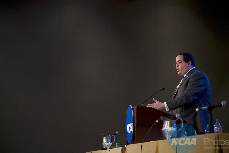 19 JAN 2017: The Division I Issues Forum takes place during the 2017 NCAA Convention at the Gaylord Opryland Resort and Convention Center in Nashville, TN.  Jamie Schwaberow/NCAA Photos  (Pictured:  Chris Richardson)