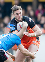 Picture by Allan McKenzie/SWpix.com - 11/03/2018 - Rugby League - Betfred Super League - Castleford Tigers v Salford Red Devils - the Mend A Hose Jungle, Castleford, England - James Clare.