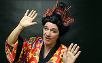 12-1-2016: Retired school teacher, Declan Mangan, who has played 'The Dame' for 53 consecutive years pictured at rehearsals for the 53rd Killorglin Pantomime 'Madame Butterfly AKA Mrs Alladin' which starts this Saturday January 16th for one week in the CYMS, Killorglin.<br /> Photo: Don MacMonagle