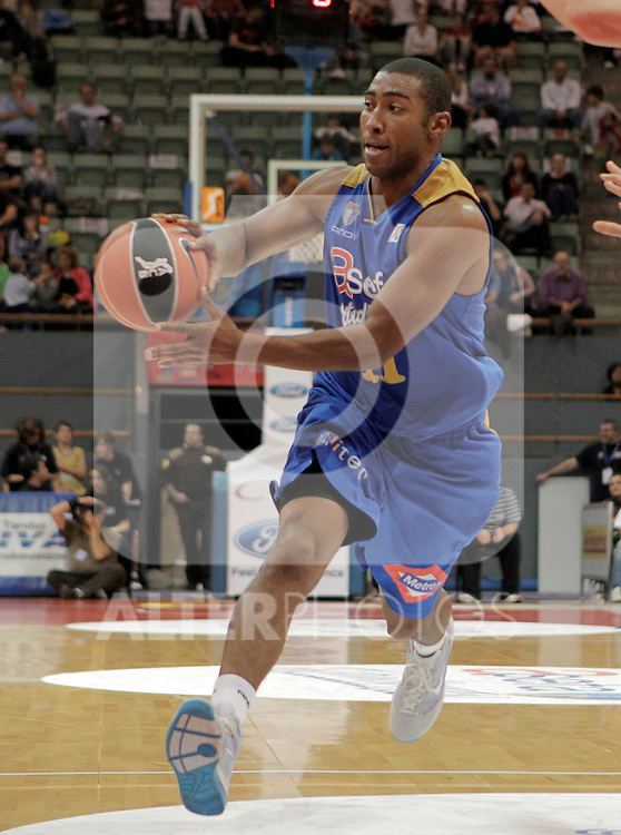 Asefa Estudiantes' Jayson Granger during ACB match.October 17,2010. (ALTERPHOTOS/Acero)