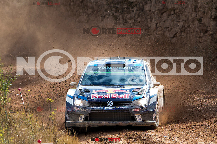 Andreas Mikkelsen/Anders Jaeger (Volkswagen Polo R WRC) during the World Rally Car RACC Catalunya Costa Dourada 2016 / Rally Spain, in Catalunya, Spain. October 15, 2016. (ALTERPHOTOS/Rodrigo Jimenez) NORTEPHOTO.COM