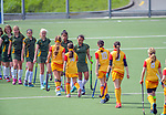Action from the 2019 Collier Trophy Under-13 Girls' Hockey Tournament match between Thames Valley and Mid Canterbury at National Hockey Stadium in Wellington, New Zealand on Friday, 9 October 2019. Photo: Dave Lintott / lintottphoto.co.nz