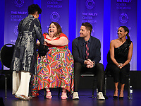 """HOLLYWOOD, CA - MARCH 24: Phylicia Rashad, Chrissy Metz, Justin Hartley, and Melanie Liburd attend PaleyFest 2019 for 20th Century Fox Television's """"This is Us"""" at the Dolby Theatre on March 24, 2019 in Hollywood, California. (Photo by Frank Micelotta/20th Century Fox Television/PictureGroup)"""