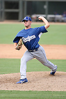 Cole St Clair - Los Angeles Dodgers - 2010 Instructional League.Photo by:  Bill Mitchell/Four Seam Images..