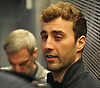 Jordan Eberle speaks with the media after New York Islanders player exit interviews at Northwell Health Ice Center in East Meadow on Sunday, April 8, 2018.