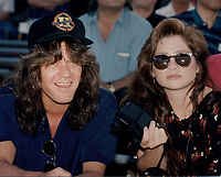 Eddie Van Halen &amp; wife Valerie Bertinelli 1992<br /> Photo By John Barrett-PHOTOlink.net / MediaPunch