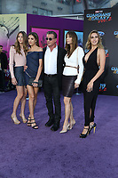 """19 April 2017 - Hollywood, California - Sylvester Stallone, Jennifer Flavin, Sistine Rose Stallone, Sophia Rose Stallone, Scarlet Rose Stallone. Premiere Of Disney And Marvel's """"Guardians Of The Galaxy Vol. 2"""" held at Dolby Theatre. Photo Credit: PMA/AdMedia"""