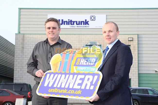Unitrunk Ireland, Unit 17 Rosemount Park Drive, Rosemount Business Park, Ballycoolin Road, Dublin .David Morrow, Dave Ainscough..Picture Fran Caffrey/www.newsfile.ie.
