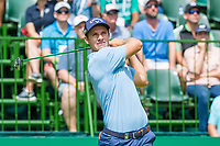Andrea Pavan (ITA) on the 1st tee during the first round at the Nedbank Golf Challenge hosted by Gary Player,  Gary Player country Club, Sun City, Rustenburg, South Africa. 14/11/2019 <br /> Picture: Golffile | Tyrone Winfield<br /> <br /> <br /> All photo usage must carry mandatory copyright credit (© Golffile | Tyrone Winfield)