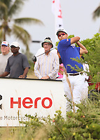 151204 Adam Scott during Friday's Second Round of The Hero World Challenge, at The Albany Golf Club in New Providence, Nassau, Bahamas.(photo credit : kenneth e. dennis/kendennisphoto.com)