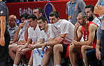 European championship basketball match for third place between France and Serbia on September 20, 2015 in Lille, France  (credit image & photo: Pedja Milosavljevic / STARSPORT)