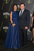 LAS VEGAS, NV - NOVEMBER 30: Krissie Newman and Ryan Newman arriving to the 2017 NASCAR Sprint Cup Awards at The Wynn Hotel & Casino in Las Vegas, Nevada on November 30, 2017. Credit: Damairs Carter/MediaPunch /NortePhoto NORTEPHOTOMEXICO