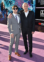 Christopher Lloyd &amp; son at the premiere for &quot;Ready Player One&quot; at The Dolby Theatre, Los Angeles, USA 26 March 2018<br /> Picture: Paul Smith/Featureflash/SilverHub 0208 004 5359 sales@silverhubmedia.com