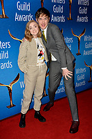 LOS ANGELES, CA. February 17, 2019: Elsie Fisher & Bo Burnham at the 2019 Writers Guild Awards at the Beverly Hilton Hotel.<br /> Picture: Paul Smith/Featureflash