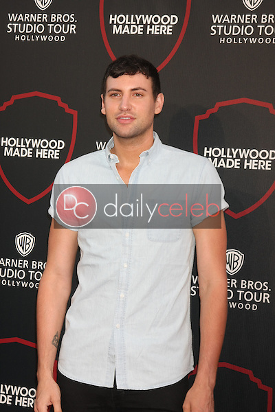 Alx James<br /> at the Warner Bros. Studio Tour Hollywood Expansion Official Unveiling, Stage 48: Script To Screen, Warner Brothers Studios, Burbank, CA 07-14-15<br /> David Edwards/DailyCeleb.com818-249-4998