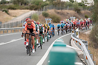 Team CCC at the helm<br /> <br /> Stage 19: Ávila to Toledo (165km)<br /> La Vuelta 2019<br /> <br /> ©kramon