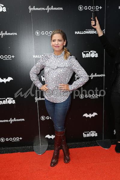 30 October 2016 - Hollywood, California - Sarah Michelle Gellar. GOOD+ Foundation 1st Annual Halloween Bash held at Sunset Gower Studios. Photo Credit: PMA/AdMedia