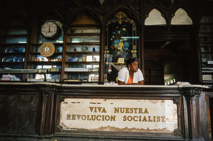 Havana Cuba at the turn of the millennium.