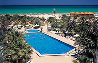 Tunisia, Djerba: Palm Beach Hotel, swimming pool