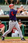 10 March 2006: Brendan Harris, infielder for the Washington Nationals, at bat during a Spring Training game against the Houston Astros. The Astros defeated the Nationals 8-6 at Osceola County Stadium, in Kissimmee, Florida...Mandatory Photo Credit: Ed Wolfstein..