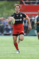 Chris Wyles of Saracens  runs in his second try during the Aviva Premiership semi final match between Saracens and Leicester Tigers at Allianz Park on Saturday 21st May 2016 (Photo: Rob Munro/Stewart Communications)