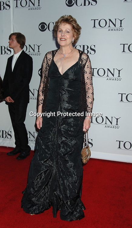 Lynn Redgrave..arriving at the 60th Annual Tony Awards on June11, 2006..at Radio City Music Hall. ..Robin Platzer, Twin Images