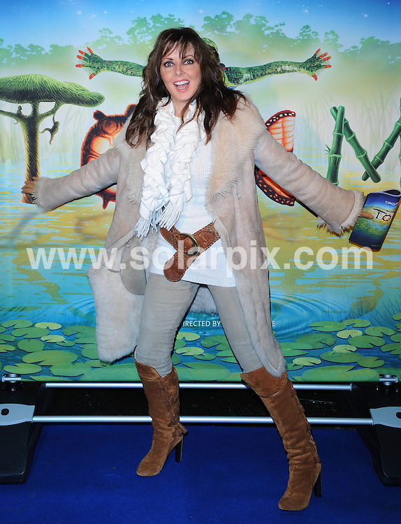 **ALL ROUND PICTURES FROM SOLARPIX.COM**                                             **WORLDWIDE SYNDICATION RIGHTS**                                                                                  Caption: Outside arrivals at UK Premiere of Totem at the Royal Albert Hall, Kensington, London, UK. Wednesday 5 January 2011                                                                              This pic: Carol Vorderman                                                                        JOB REF: 12630 SSD       DATE: 05_01_2010                                                           **MUST CREDIT SOLARPIX.COM OR DOUBLE FEE WILL BE CHARGED**                                                                      **MUST AGREE FEE BEFORE ONLINE USAGE**                               **CALL US ON: +34 952 811 768 or LOW RATE FROM UK 0844 617 7637**