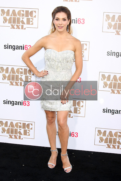 """Allison Holker <br /> at the """"Magic Mike XXL"""" Premiere, TCL Chinese Theater, Hollywood, CA 06-25-15<br /> David Edwards/DailyCeleb.com 818-249-4998"""