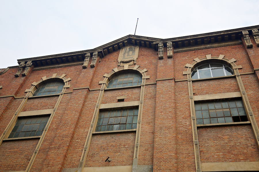 A Small Section Of Liddell Brothers & Company's  Substantial Processing Plant And Warehouse in Hankou (Hankow), Wuhan.