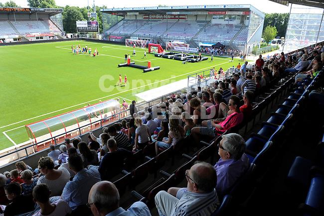 117 km<br /> GRONINGEN - Voetbal, Open dag FC Emmen, JENS Vesting, seizoen 2014-2015, 03-08-2014,