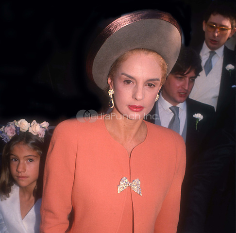 Carolina Herrera Undated<br /> Photo By John Barrett/PHOTOlink/MediaPunch