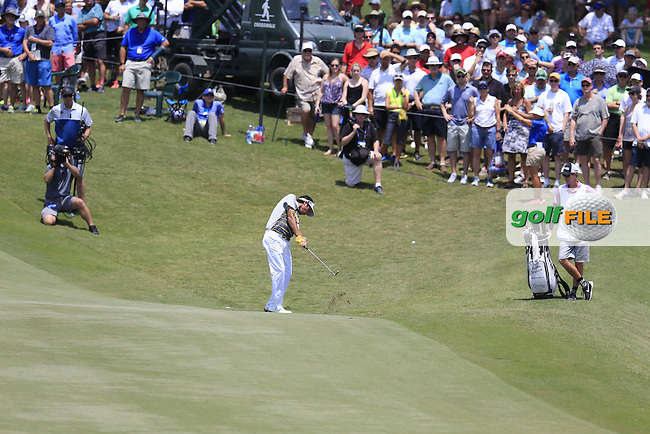 Bubba Watson (USA) during round 2 of the Players, TPC Sawgrass, Championship Way, Ponte Vedra Beach, FL 32082, USA. 13/05/2016.<br /> Picture: Golffile | Fran Caffrey<br /> <br /> <br /> All photo usage must carry mandatory copyright credit (&copy; Golffile | Fran Caffrey)