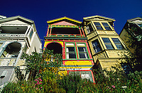 Houses in Thorndon section,  Wellington, New Zealand