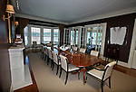 The Dining Room at the home of Pete and Judi Dawkins in Rumson, New Jersey. CREDIT: Bill Denver for the Wall Street Journal..NYHODRUMSON