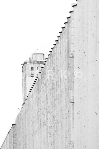 Grain Silo in Hutchinson, Kansas. 2009