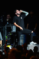 WEST PALM BEACH, FL - AUGUST 05: Singer Jeremy McKinnon of A Day To Remember perform at Perfect Vodka Amphitheatre on August 5, 2016 in West Palm Beach, Florida. Credit: MPI10 / MediaPunch