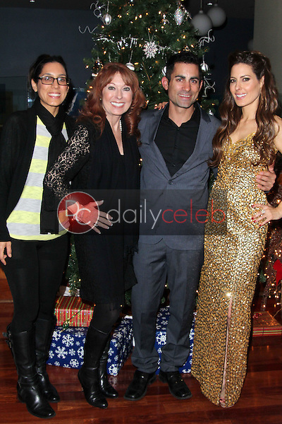 Julie Kasem, Linda Kasem, Mike Kasem, Kerri Kasem<br />