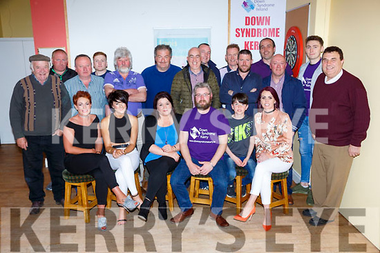 Donal O'Sullivan shaved his beard off to help raise funds for Down Syndrome in the Kilcummin Klub bar on Sunday night