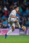 Lucas Vazquez of Real Madrid in action during their La Liga match between Real Madrid and Real Sociedad at the Santiago Bernabeu Stadium on 29 January 2017 in Madrid, Spain. Photo by Diego Gonzalez Souto / Power Sport Images