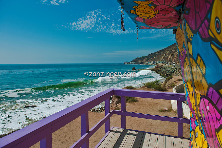 LT1, Lifeguard Tower, Topanga,  CA, Socal Beach, Lifeguard Stations, CA, Geometric, shapes, Lifeguard Towers, Portraits of Hope, Summer of Color exhibit, The flower, beauty, core design, elements, design theme, environment, symbol of joy, universal, youth High dynamic range imaging (HDRI or HDR)