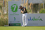 Gareth Maybin (NIR) in action on the 7th tee during Day 1 Thursday of the Open de Andalucia de Golf at Parador Golf Club Malaga 24th March 2011. (Photo Eoin Clarke/Golffile 2011)