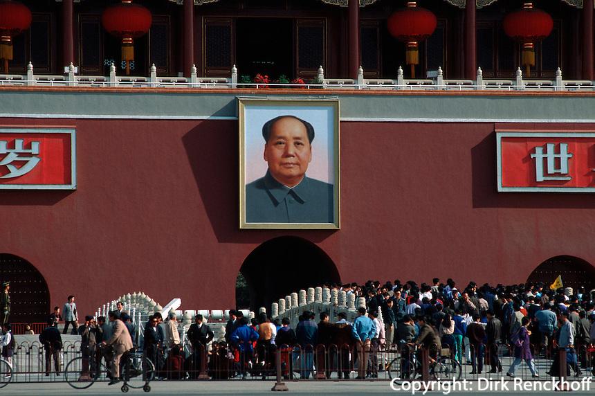 Tor des himmlischen Friedens (Tian'AnMen), Peking (Beijing), China