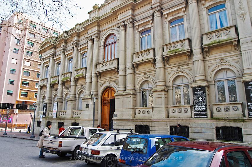 Ateneo de Montevideo, Plaza de Cagancha Square, 1157 - Montevideo · Uruguay - educational and cultural institute. Montevideo, Uruguay, South America